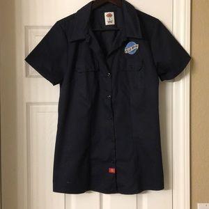 Blue Moon garage button down shirt